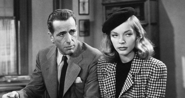 Humphrey Bogart & Lauren Bacall in The Big Sleep