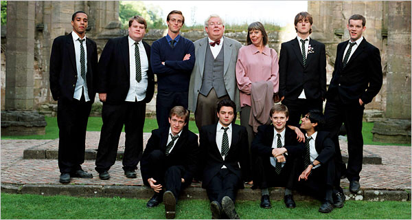 The cast of The History Boys