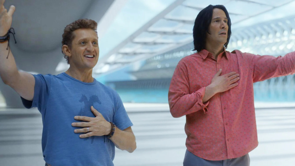 Alex Winter & Keanu Reeves in Bill & Ted Face The Music