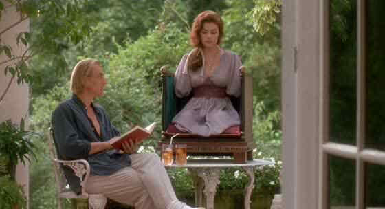Julian Sands & Sherilyn Fenn in Boxing Helena