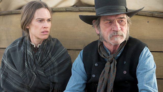 Hilary Swank & Tommy Lee Jones in The Homesman