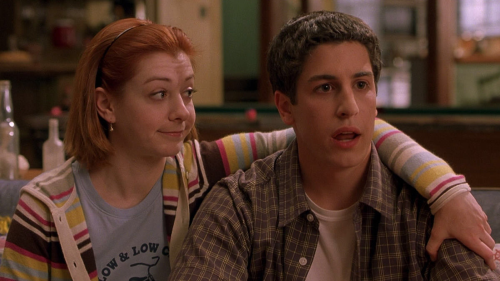 Alyson Hannigan & Jason Biggs in American Pie 2