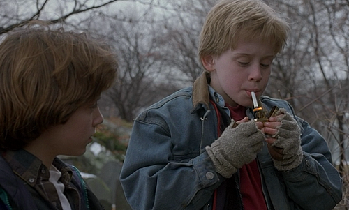 Elijah Wood & Macauley Culkin in The Good Son