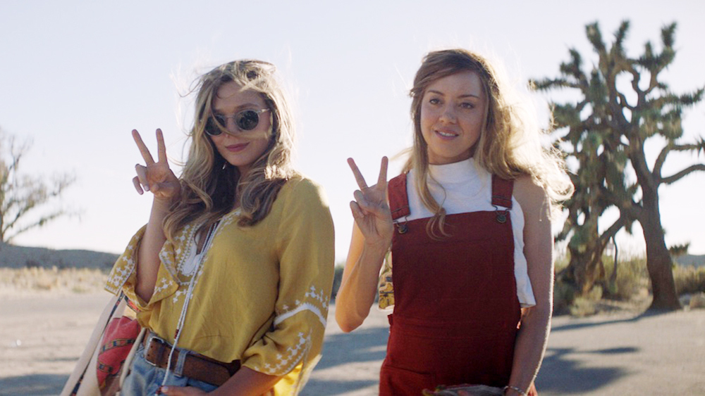 Elizabeth Olsen & Aubrey Plaza in Ingrid Goes West