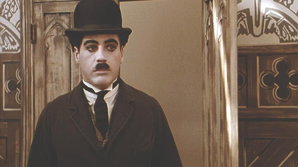 Robert Downey, Jr. in Chaplin