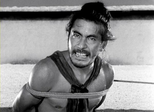 Toshiro Mifune in Rashomon