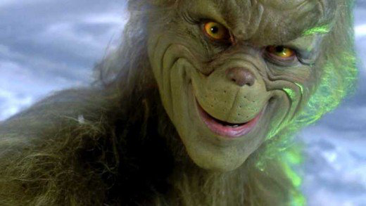 Jim Carrey in The Grinch