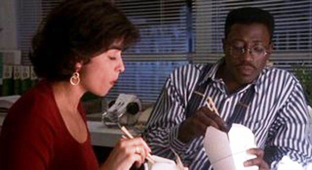 Annabella Sciorra & Wesley Snipes in Jungle Fever