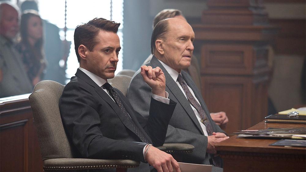 Robert Downey, Jr. & Robert Duvall in The Judge