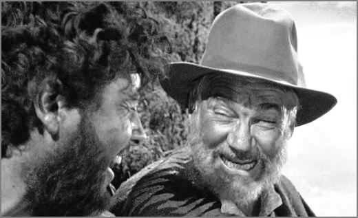 Walter Huston in The Treasure Of The Sierra Madre