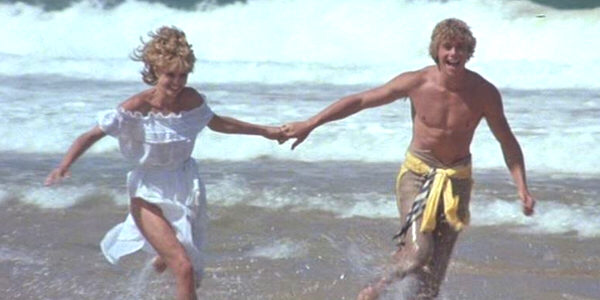 Kristy McNichol & Christopher Atkins in The Pirate Movie