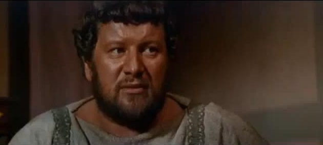 Peter Ustinov in Spartacus