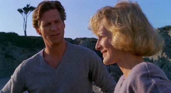 Jeff Bridges & Glenn Close in Jagged Edge