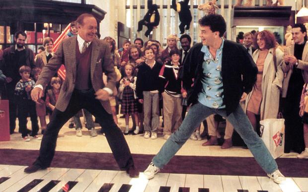 Robert Loggia & Tom Hanks in Big