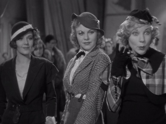 Ginger Rogers (centre) in 42nd Street