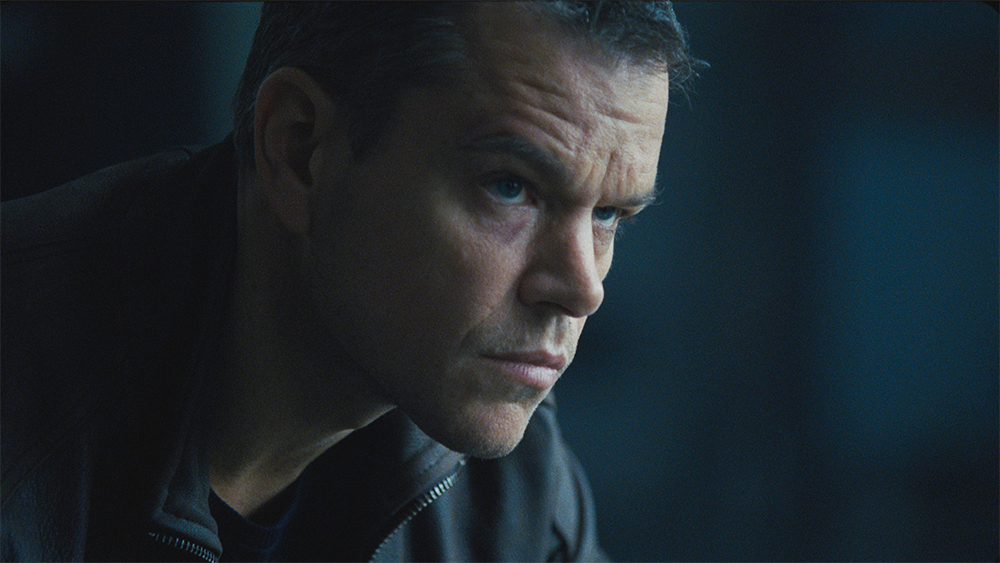 Matt Damon in Jason Bourne