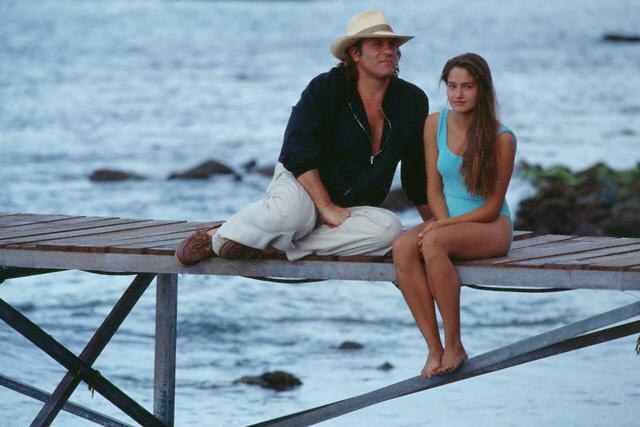 Gerard Depardieu & Marie Gillain in Mon Pere, çe Heros