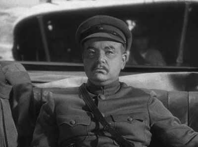 Akim Tamiroff in The General Died At Dawn