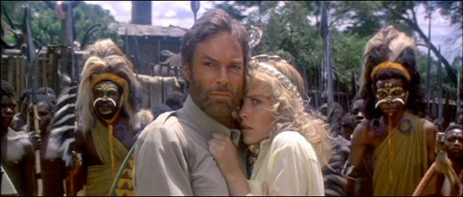 Richard Chamberlain & Sharon Stone in King Solomon's Mines