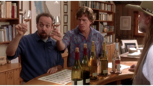 Paul Giamatti & Thomas Haden Church in Sideways