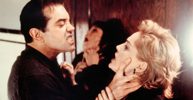Chazz Palminteri, Isabelle Adjani & Sharon Stone in Diaboloque
