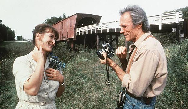 Meryl Streep & Clint Eastwood in The Bridges Of Madison County