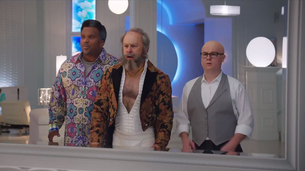 The cast of Hot Tub Time Machine 2