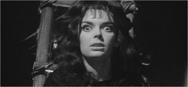 Barbara Steele in Black Sunday