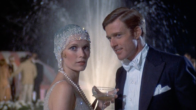 Mia Farrow & Robert Redford in The Great Gatsby