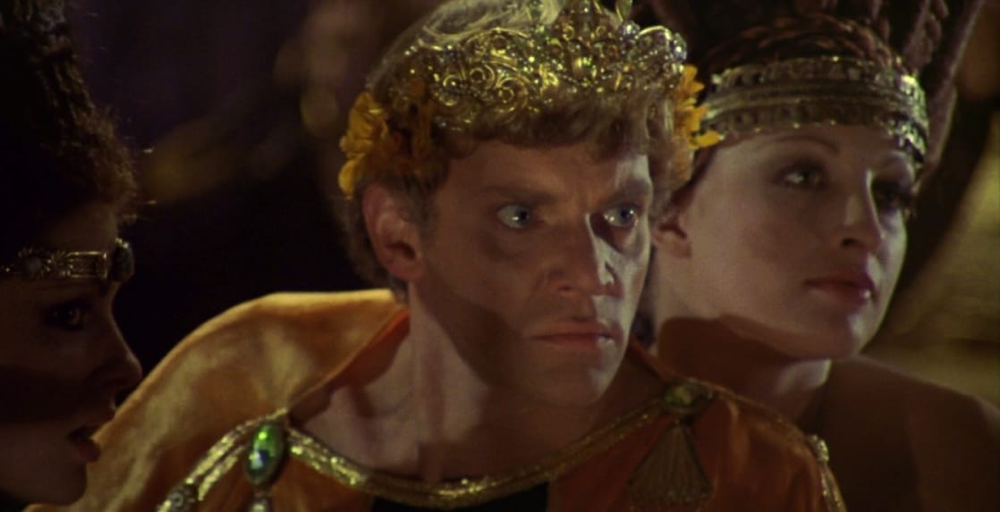 Malcolm McDowell in Caligula