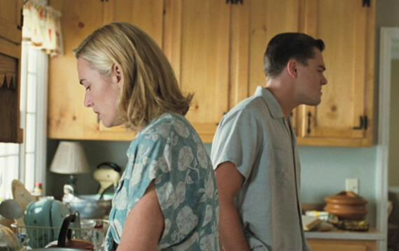 Kate Winslet & Leonardo DiCaprio in Revolutionary Road