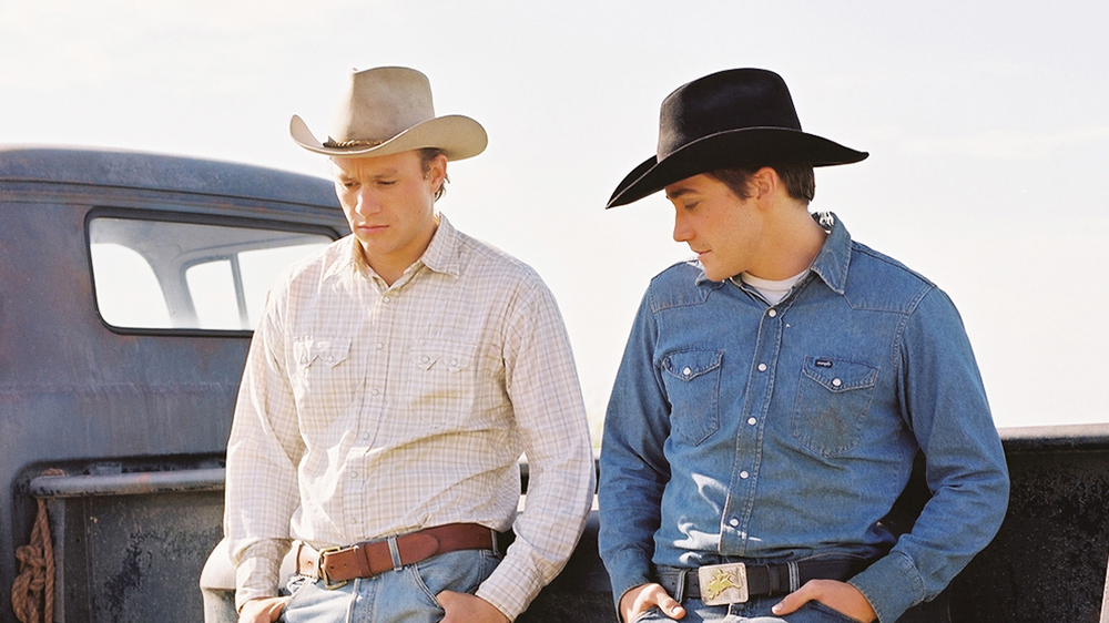 Heath Ledger & Jake Gyllenhaal in Brokeback Mountain