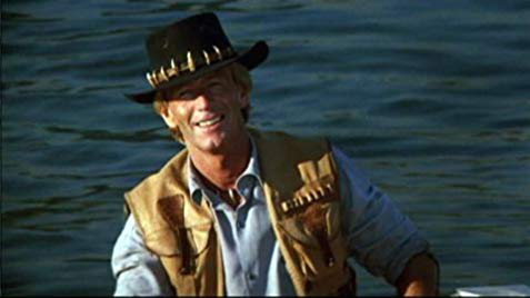 Paul Hogan in Crocodile Dundee II