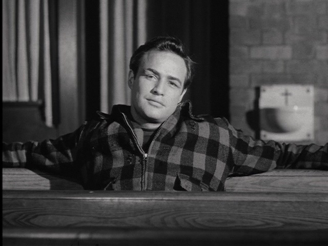 Marlon Brando in On The Waterfront