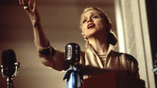 Madonna in Evita