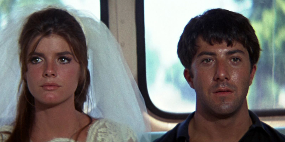 Katharine Ross (& Dustin Hoffman) in The Graduate