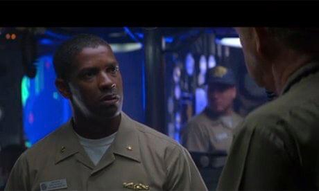 Denzel Washington in Crimson Tide