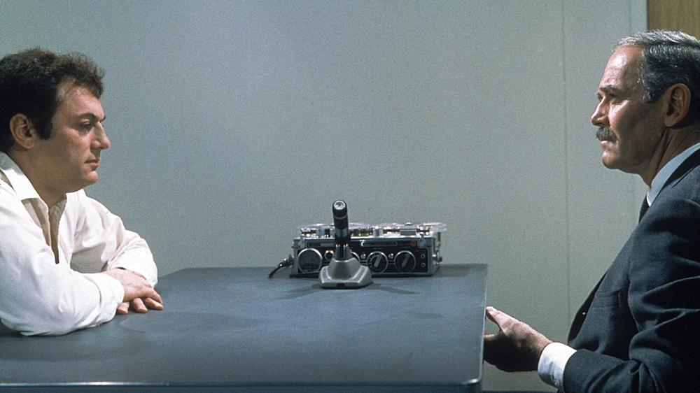 Tony Curtis & Henry Fonda in The Boston Strangler