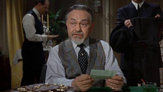 Edward G. Robinson in The Cincinnati Kid