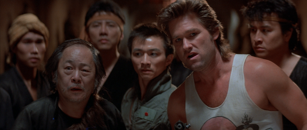 The cast of Big Trouble In Little China