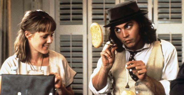 Mary Stuart Masterson & Johnny Depp in Benny & Joon