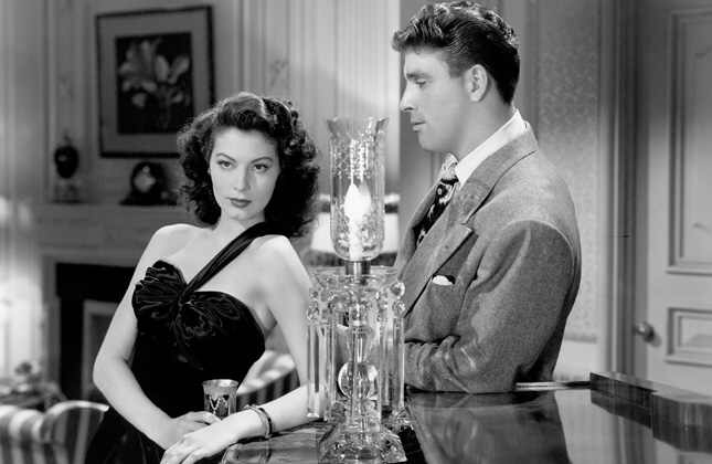 Ava Gardner & Burt Lancaster in The Killers