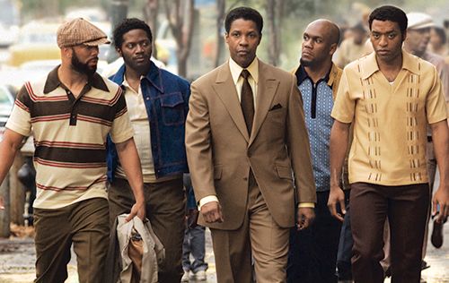 The cast of American Gangster