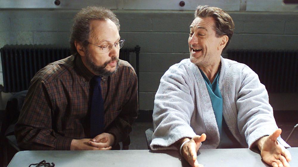Billy Crystal & Robert de Niro in Analyze That