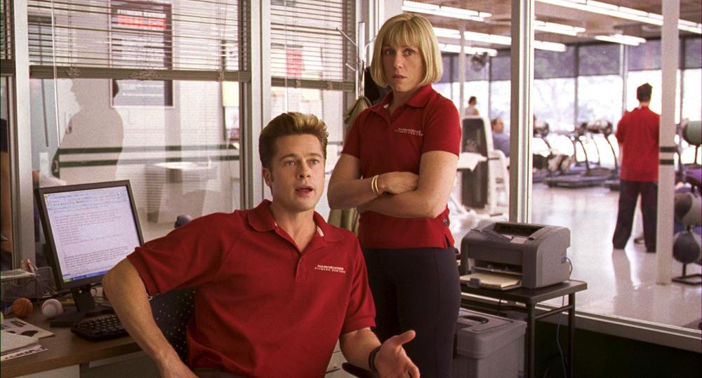 Brad Pitt & Frances McDormand on Burn After Reading