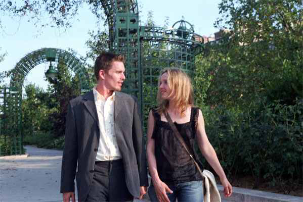 Ethan Hawke & Julie Delpy in Before Sunset