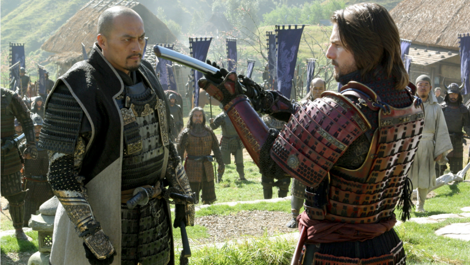 Ken Watanabe & Tom Cruise in The Last Samurai
