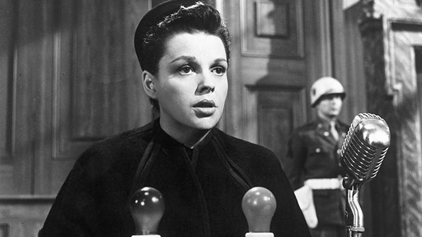 Judy Garland in Judgment At Nuremberg