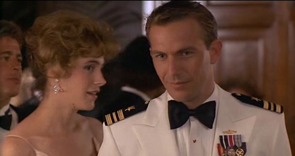 Sean Young & Kevin Costner in No Way Out