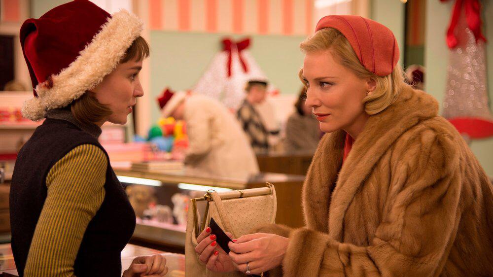 Rooney Mara & Cate Blanchett in Carol